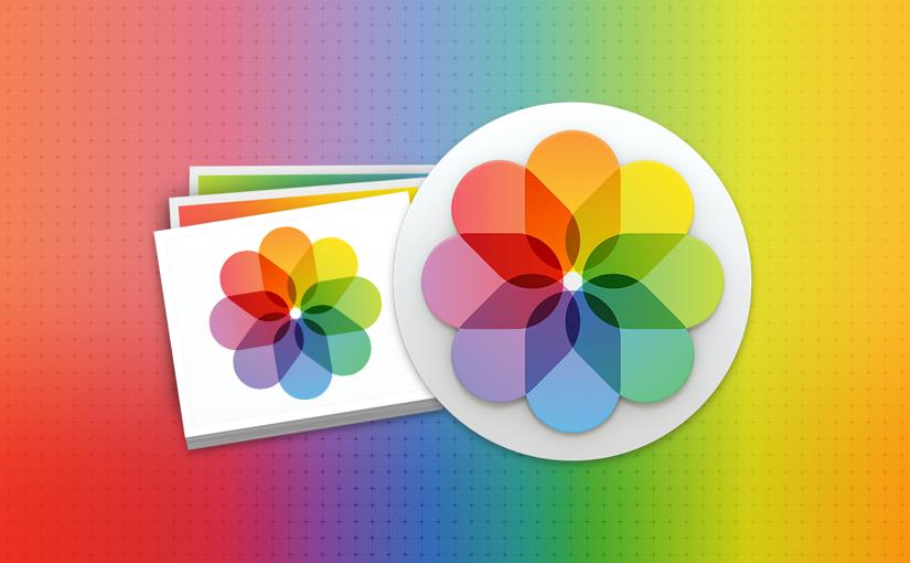 OS X Yosemite 10.10.3 写真のための写真アプリ